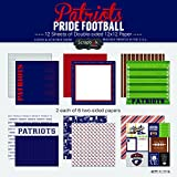 Scrapbook Customs Patriots Pride Football Scrapbook Kit