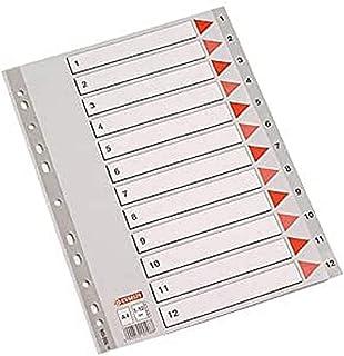 serie Eco PP Esselte abecedarios di plastica Grigio A4 grigio