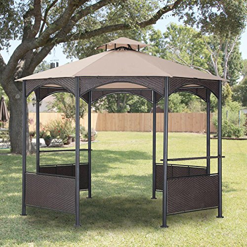 Garden Winds LCM1289B-RS Bolivia Gazebo Riplock 350 Replacement...