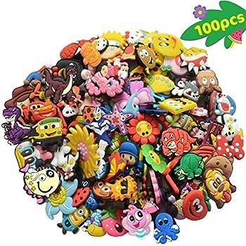Clogs Anstecker für Crocs Shoe Charms 8 Schuh Pins Adventure Time