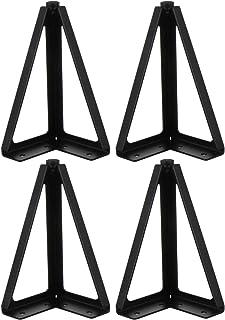 ledmomo テーブル脚 4脚 高さ15cm diy テーブル テレビ ソファー