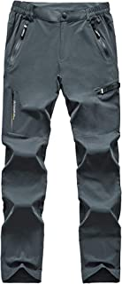 MAGCOMSEN Men's Outdoor Quick Dry Lightweight Breathable Pants Hiking 5 Pockets Pants