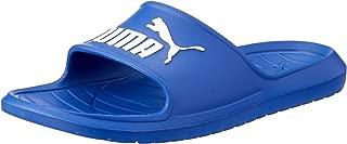 PUMA Women's Divecat V2 Slide Sandal, Surf The Web White