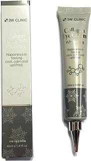 [3W CLINIC] コラーゲンアイクリームホワイトニング40ml X 4ea / Collagen Eye Cream Whitening 40ml X 4ea / しっとりしっとり/moist / 韓国化粧品/Korean Cosmetics [並行輸入品]