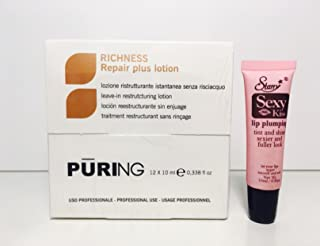 MX Puring Intense Plus Leave-In Restructuring Ampules (12) .24oz