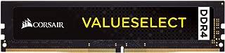 Corsair CMV16GX4M1A2666C18 Value Select 16GB DDR4 2666 C18 1.2V Desktop - Intel Core X and AMD Ryzen Series Computer Internal Memory