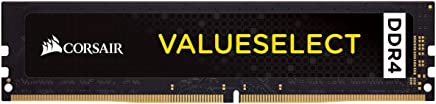 Corsair ValueSelect 4 GB, DDR4, 2666 MHz módulo de - Memoria (DDR4, 2666 MHz, 4 GB, 1 x 4 GB, DDR4, 2666 MHz, 288-pin DIMM, Negro)