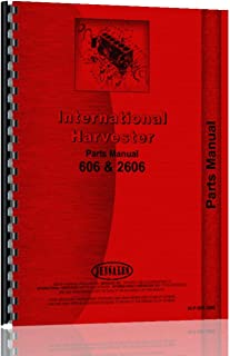 International Harvester 606 Tractor Parts Manual