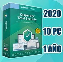 KASPERSKY TOTAL SECURITY 2020 10-PC licencia por email no disco