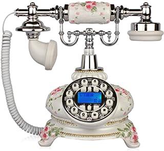 Antique Telephone Continental Retro Home Office Landline Resin Button Antique Telephone Retro Landline