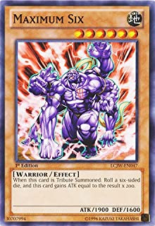 Yu-Gi-Oh! - Maximum Six (LCJW-EN047) - Legendary Collection 4: Joey's World - 1st Edition - Common