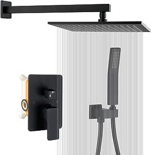 shower enclosure black