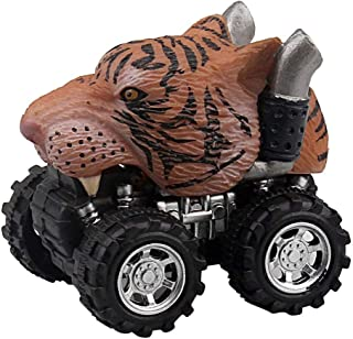 Dinosaur Toys, Wenini Animal Children Gift Toy Dinosaur Model Mini Toy Car Gift Pull Back Cars Toy (D)