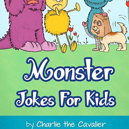 Monster Jokes for Kids audiobook cover art