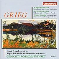 Grieg:Symphonic Dances/6 Songs