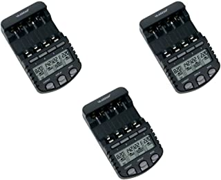 La Crosse Technology BC700 Alpha Power Battery Charger - 3 Pack