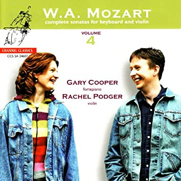Mozart: Complete Sonatas for Keyboard and Violin, Vol. 4