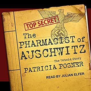 The Pharmacist of Auschwitz audiobook cover art