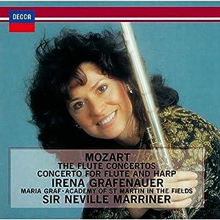 モーツァルト:フルートとハープのための協奏曲、フルート協奏曲第1番&第2番、アンダンテ