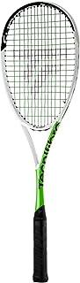 Tecnifibre SUPREM 135 CurV Unisex Adult Squash Racquet, White, Single