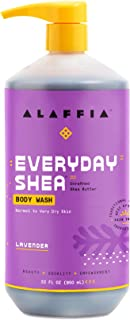 Alaffia - Everyday Shea Body Wash, Naturally Helps Moisturize and Cleanse without Stripping Natural Oils with Shea Butter,...