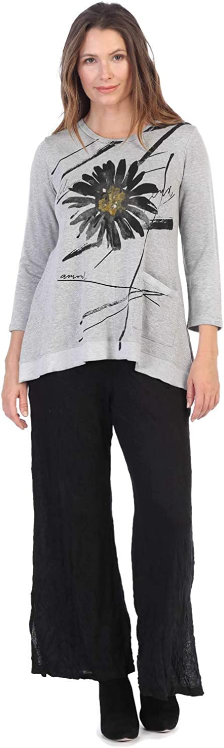 At the price of surprise Jess Jane 5% OFF Women's Chit Chat Baby Terry Patch Pocket Tunic Top
