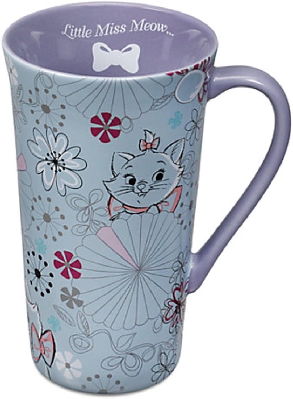 Disney Store Marie Latte Tall Mug Coffee Cup Purple The Aristocats