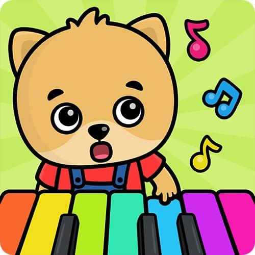 『ベイビーピアノ – キッズ向け学習ゲーム。』のトップ画像