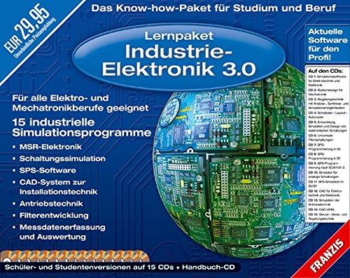 Lernpaket Industrie-Elektronik 3.0, 15 CD-ROMs u. Handbuch-CDDer praktische Schnellstart in die Technik der Hochleistungs-LEDs. Schüler- und Studentenversionen. Für Windows NT/2000/Me/XP