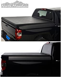 VioGi Black Vinyl Clamp On Soft Lock & Roll-up Top Mount Tonneau Cover Assembly Fit 99-06 Chevy Silverado/GMC Sierra 07 Classic Body Pickup 6.5ft Fleetside Bed