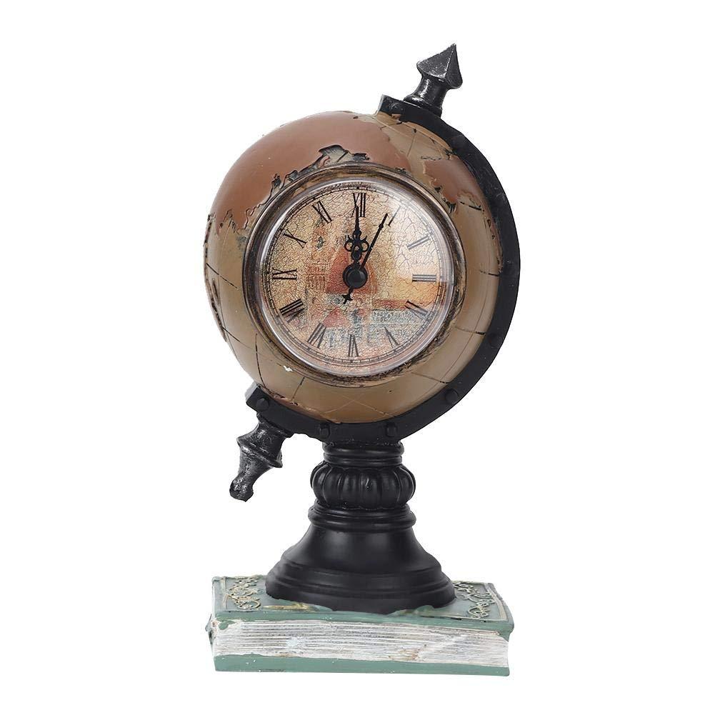 Fditt Relojes pequeños para Escritorio, Reloj de Mesa Vintage ...
