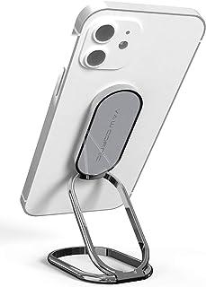 VAWcornicスマホリング ホールドリング360°回転式折り畳み スマホ スタンド ホルダー 薄型 スタンド機能 スマートフォン 携帯 置き 台 卓上, 携帯電話 すたんど 充電スタンド 落下防止 磁気車載ホルダー iPhone, Huaw...