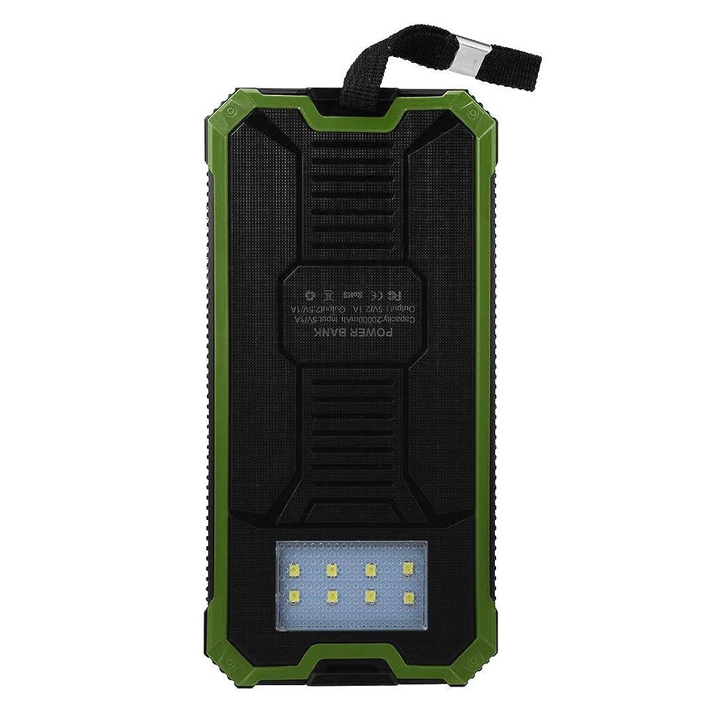 Hanku???? Waterproof 20000mAh Portable Solar Charger Dual USB Battery Power Bank F Phone