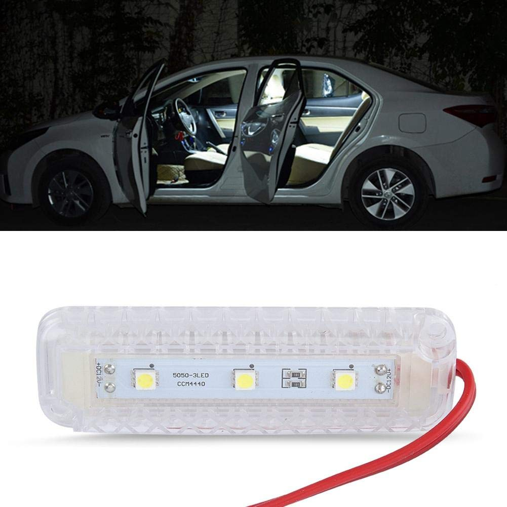 12v 1.5w Led Car Vehicle Interior Waterproof Dome Roof Ceiling Reading Trunk Light Lamp Gorgeri Reading Light