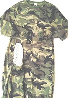 7d56097e Faded Glory Sleeper Boys Size XL 14-16 feet Attached Polyester Zipper  Closure Camouflage Fleece