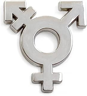 Transgender Symbol Lapel Pin