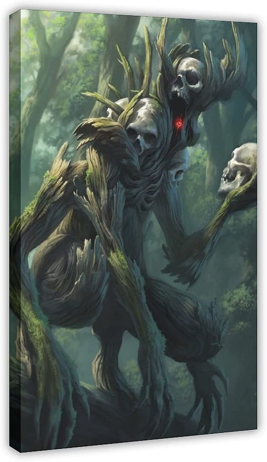 Forest Our shop OFFers the best service Beasts 9 Canvas Online limited product Poster Wall Paint Picture Decor Print Art