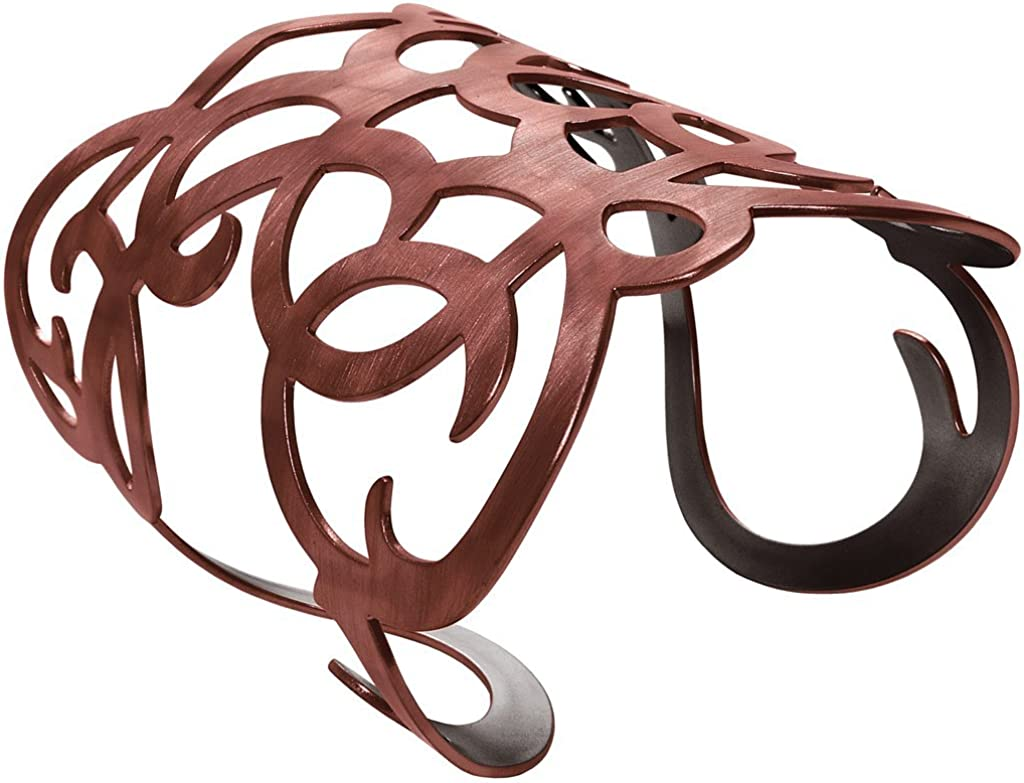 KARINE SULTAN Angela Cuff Bracelet in Copper
