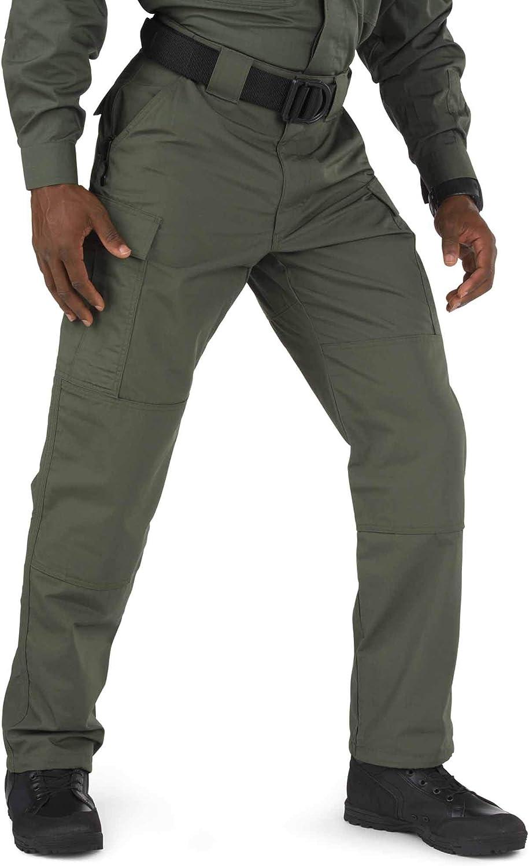 Style 74003 5.11 Tactical Men/'s Ripstop TDU Adjustable Lightweight Work Pants