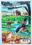 France 2008. Bloc avec 4 Timbres Authentiques de Collection Neufs Nos 4173 à 4178. Animaux préhistoriques: mammouth... par des Livres Express