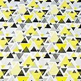 Pingianer 7,98€/m Dreiecke 100% Baumwolle 50x160cm