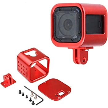 Aluminum Alloy Protective Frame Case MEr Go pro Hero 4 Session Metal Cage D/_N