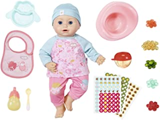 Baby Annabell Lunch Time Annabell - With Clothes, Accessories & Lifelike Functions - Crying, Eating, Drinking, Sleeping, P...