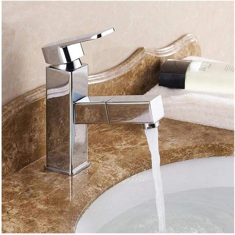 Wasserhahn Küche Bad Garten Waschtisch-Mischbatterie Küchenarmatur Becken-Mischbatterie Aus Verchromtem Messing Ctzl1178