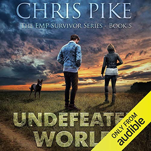 Undefeated World audiobook cover art