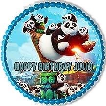 Kung Fu Panda 3 B - Edible Cake Topper - 7.5