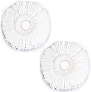 Goplus Lot Of 2 Replacement Mop Micro Head Refill For 360° Spin Magic Mop New