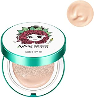 Some By Mi Killing Coverst Moisture Cushion Edition 2.0 Light Beige,For Trouble Skin,Superior Coverage,Soothing,Moisturizi...