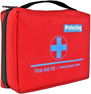 1X Portable Outdoor First Aid Kit Red Camping Emergency Survival Waterproof JJUK Sporting Goods