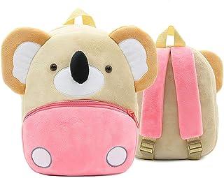 Dessin Animé Animal Sac à Dos, Mignon Koala Sac à Dos Enfant Maternelle Bébé Sac Scolaire pour Maternelle Garderie Pré Sco...